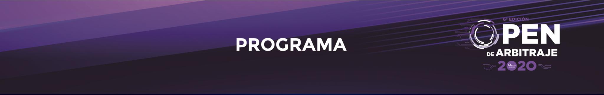 Programa OpenArbitraje2020